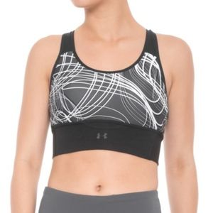 Under Armour Mid-impact Crossback Sports Bra NWT
